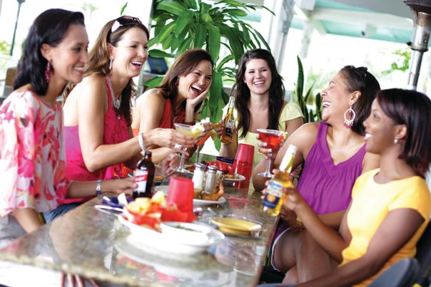 Bahama Breeze Ladies Dining