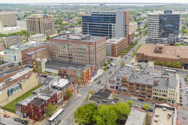 Market Street Aerial