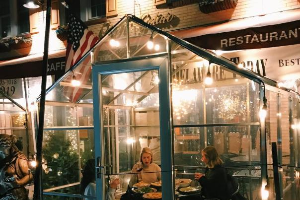 Cafe Gelato Greenhouse Dining