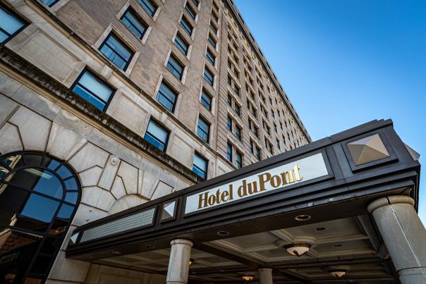 Hotel DuPont Exterior