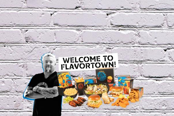 Guy Fierri Flavortown Ghost Kitchen