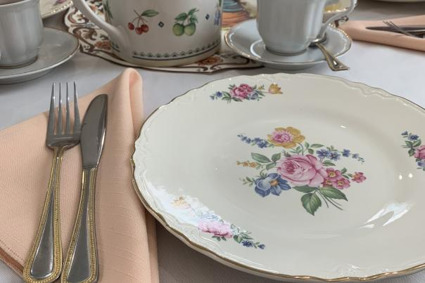 Centreville Afternoon Tea Place Setting