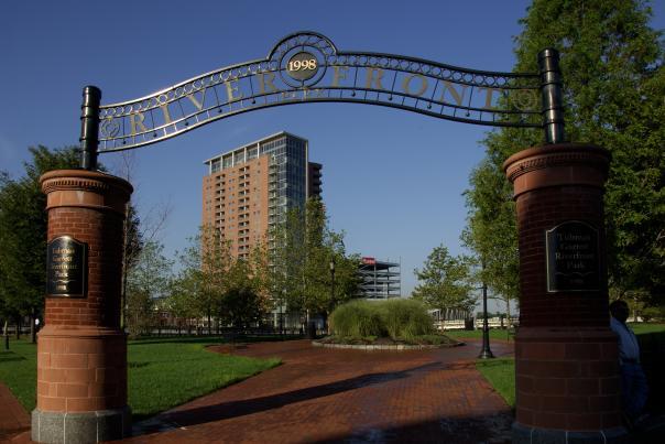 Riverfront Park Entrance