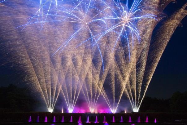 Longwood Fireworks Fountain Festival