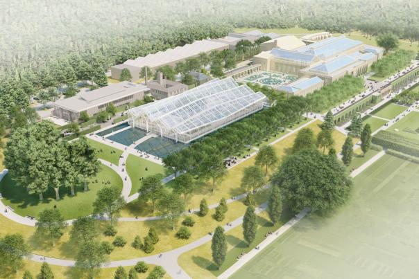 Longwood Gardens Reimagined Rendering