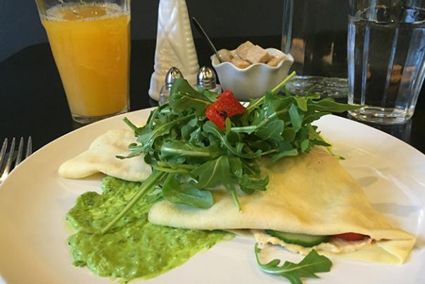 Breakfast Crepe