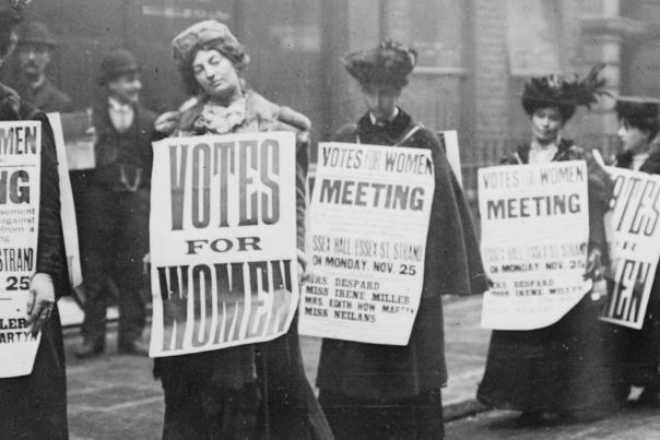 Womens Suffrage - George Grantham Bain Collection