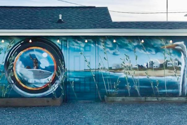 Surf & See Carolina Beach Mural Project
