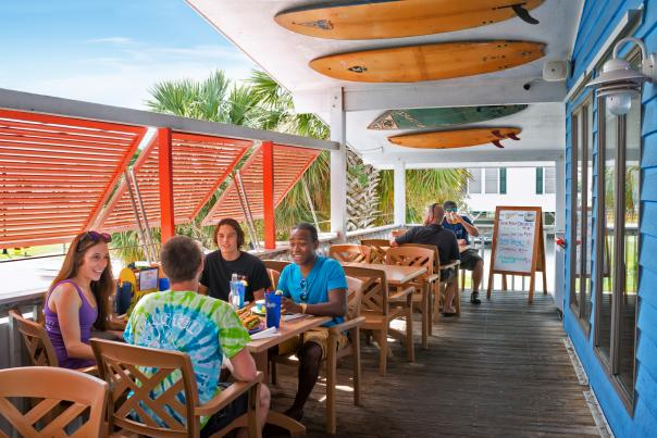 Hang Ten Restaurant Carolina Beach