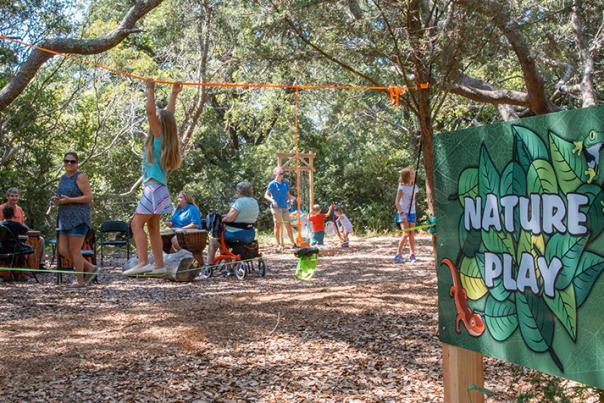 Nature Play at North Carolina Aquarium