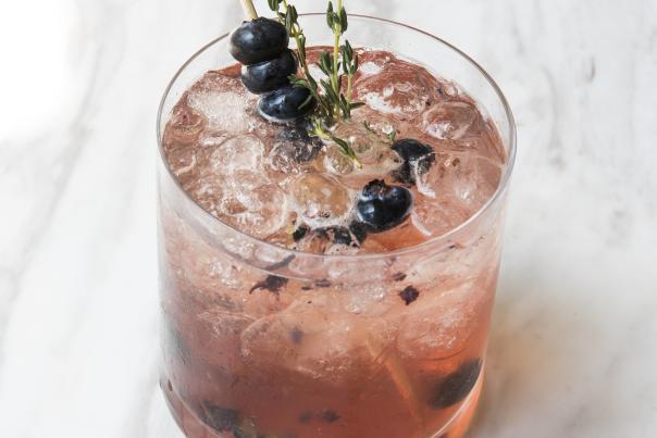 Blueberry Thyme Spritzer