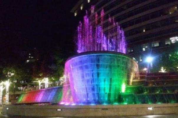 Fountains at Waterway Square