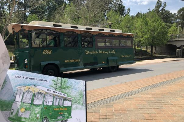 Goodnight to The Woodlands - Trolley