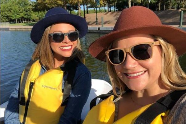 Swanboat Selfie
