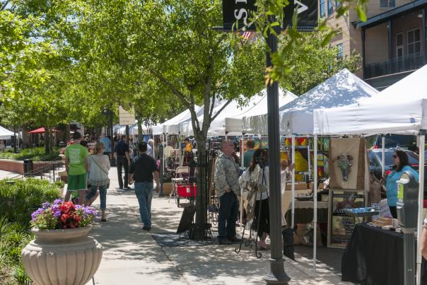 Spring Fine Arts Show at Market Street