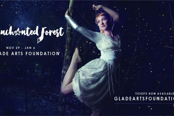 Enchanted Forest with Performer