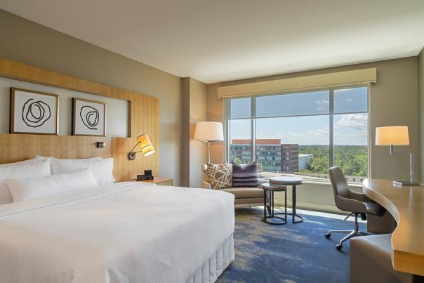 The Westin Hotel Room