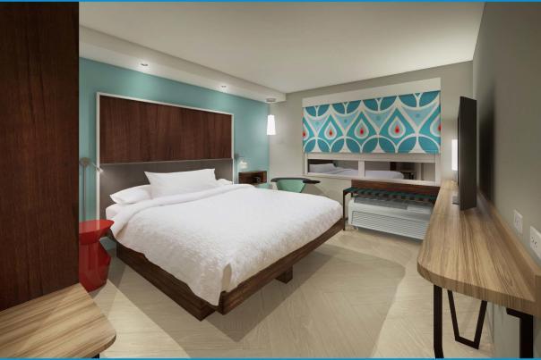Tru Hotel Room