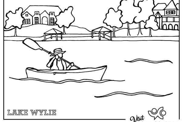 Lake Wylie Coloring Sheet