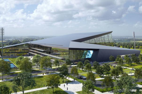 Panthers Headquarters Rendering