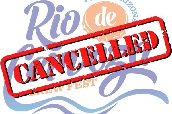 Rio de Cerveza Cancelled