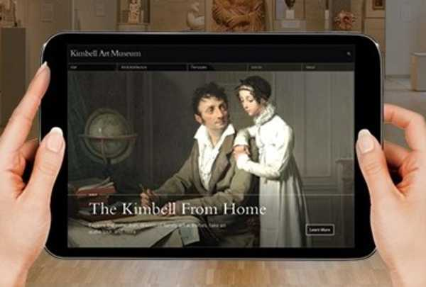 The Kimbell from Home