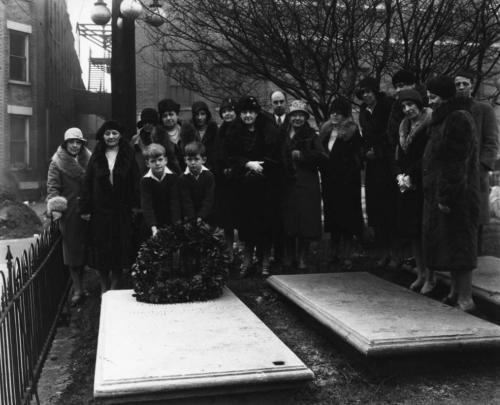 First Presbyterian Church graveyard, 1920s