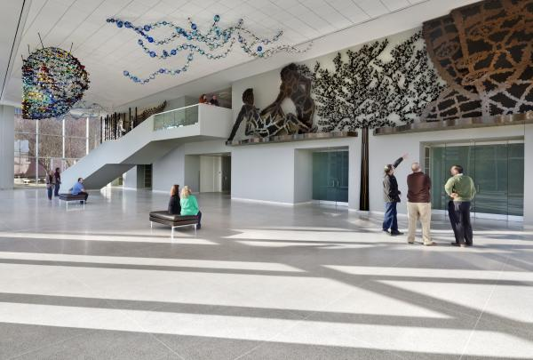 The Knoxville Museum of Art is a unique, spacious, and visually creative feast for your eyes