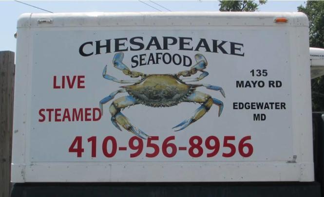 Chesapeake Seafood Truck