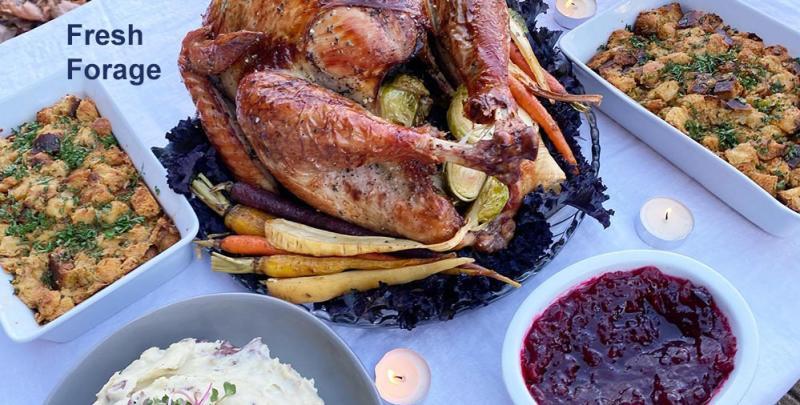 Fresh Forage Thanksgiving Dinner