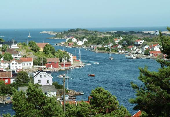 Lyngør, Sørlandet