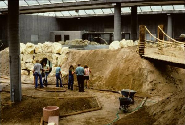Sedgwick County Zoo Jungle in 1977