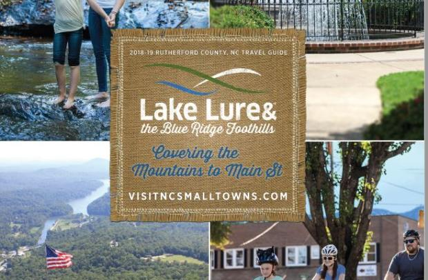 2018 Travel Guide for Lake Lure and the Blue Ridge Foothills
