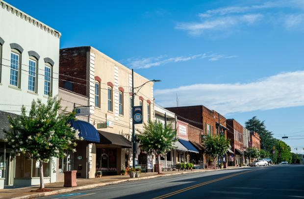Historic Small Town of Rutherfordton, NC