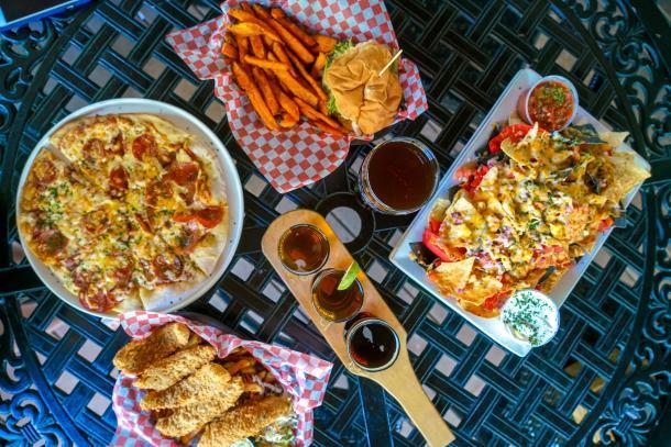Bayside Restaurant food