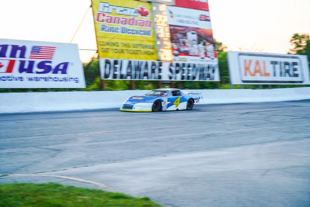 stock car at Delaware Speedway