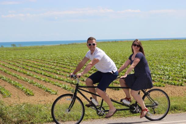 winery bike trail