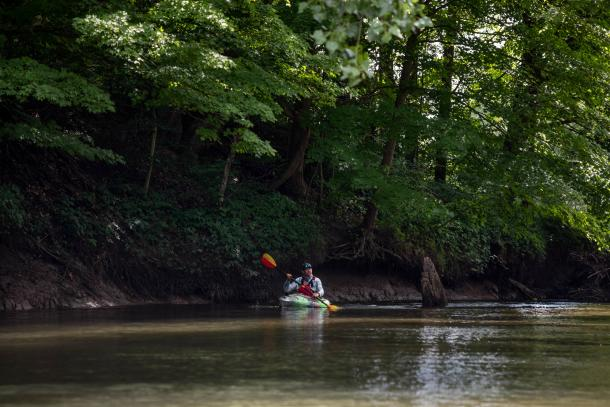 Big Creek paddling