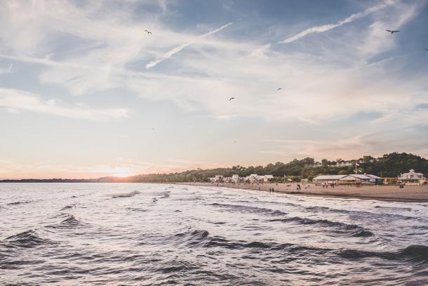 Port Stanley Beach scenic