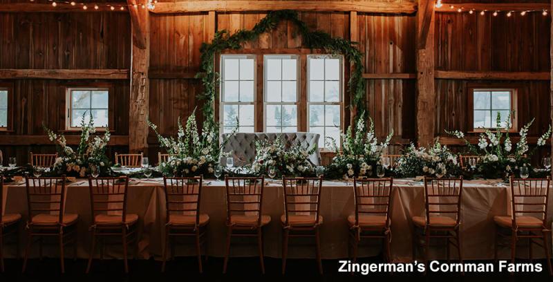 Zingerman's Cornman Farm Barn Interior