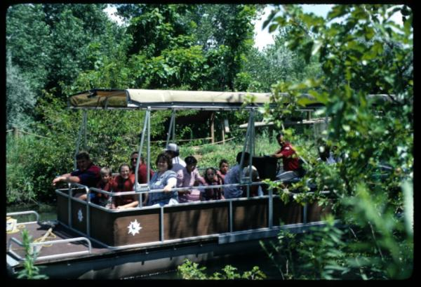 First Boat Tour at Sedgwick County Zoo in 1986