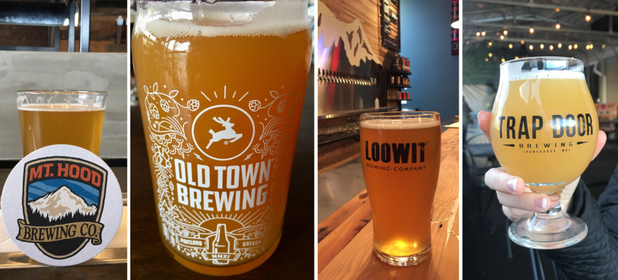 PDX and Vancouver breweries