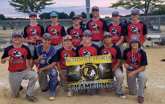 Team Photo of the Seminole Sports Baseball 16U Champions