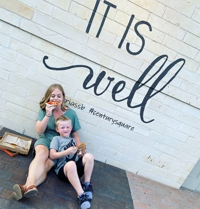 It Is Well Mural