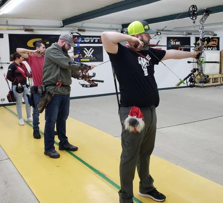 Try some archery at the Pine Hill Archery Club in Danville. (Photo credit: Pine Hill Archery Club Facebook page)