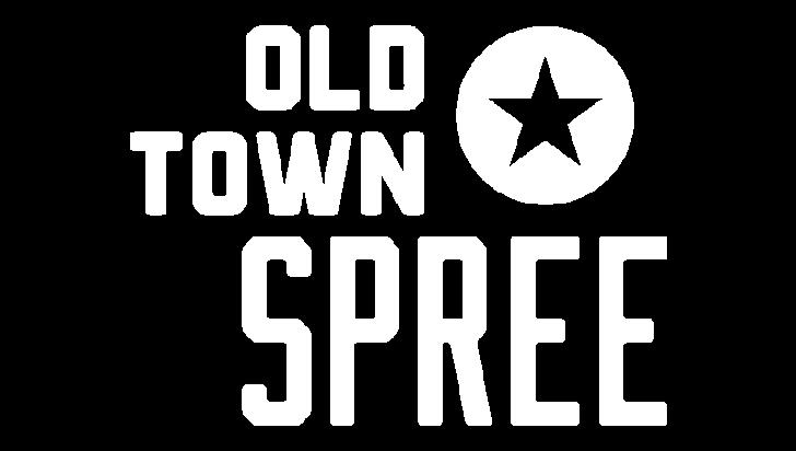 Old Town Spree white logo