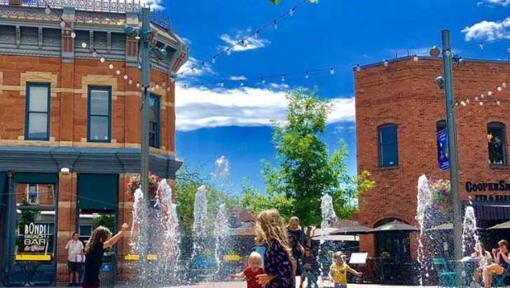 old town splash pad
