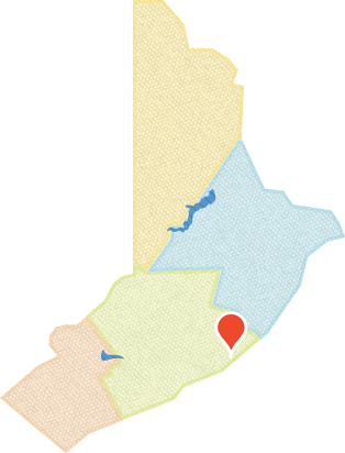 Delaware Water Gap Area Map