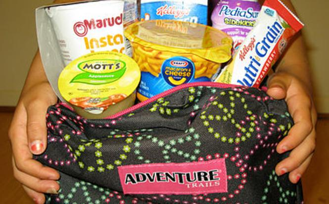 Backpack Buddies provide nutritional meals and snacks to children in need.