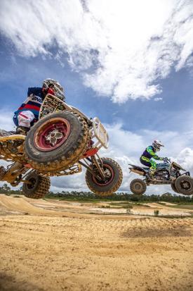 Four Wheel ATV action at Sandlot Off-Road Park